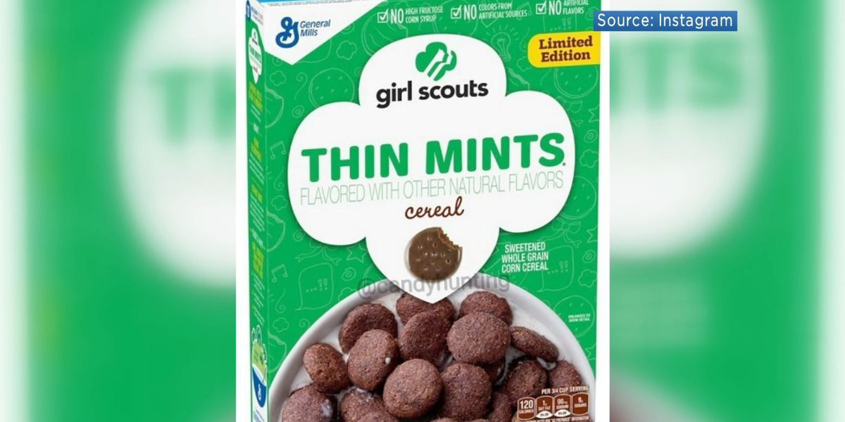General Mills to sell Girl Scout cereal