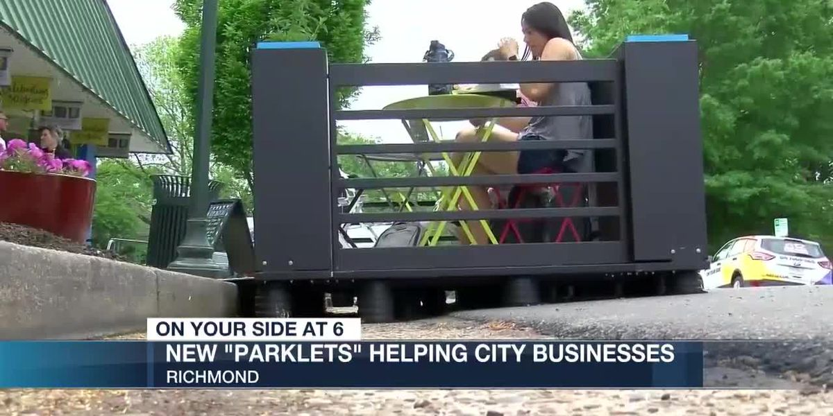 Richmond businesses say parklet program is helping sales