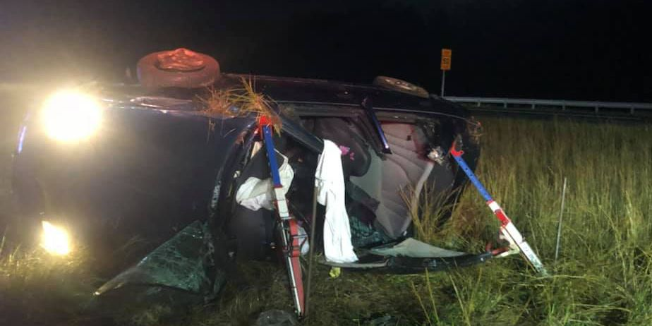 Powhatan Fire and Rescue vehicle struck while responding to crash