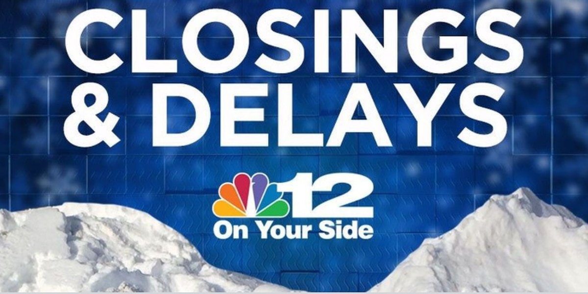 Schools announce Wednesday closures, delays
