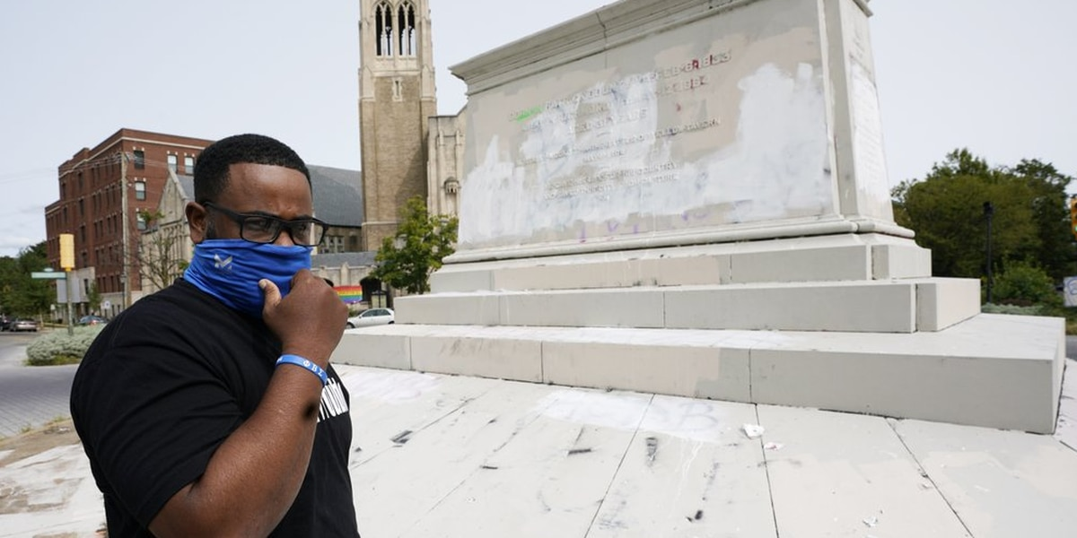 Black contractor braves threats in removing Richmond statues