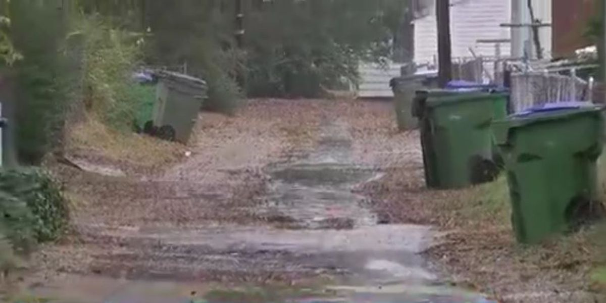 Richmond residents relieved after backed-up alley cleaned up