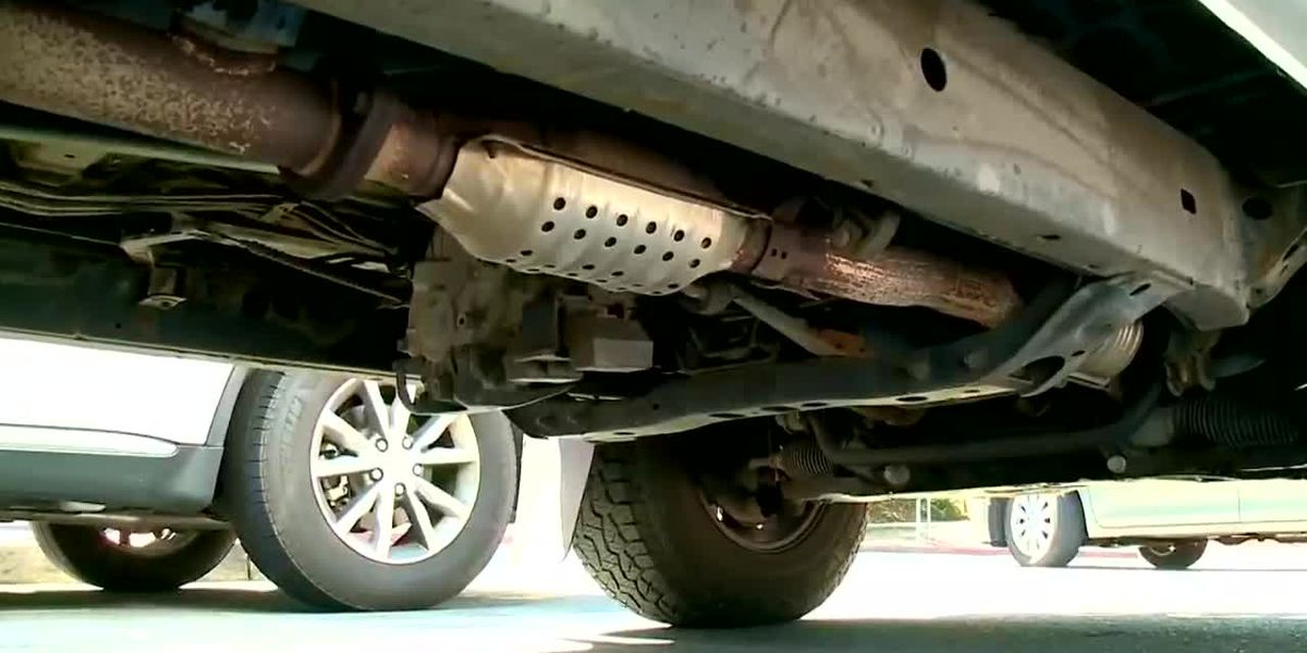 Richmond police says catalytic converter thefts are rising