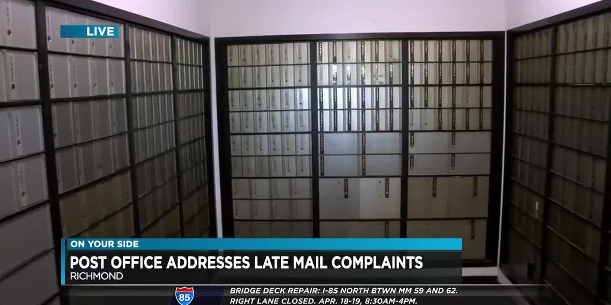 Post office addresses concerns over late mail delivery