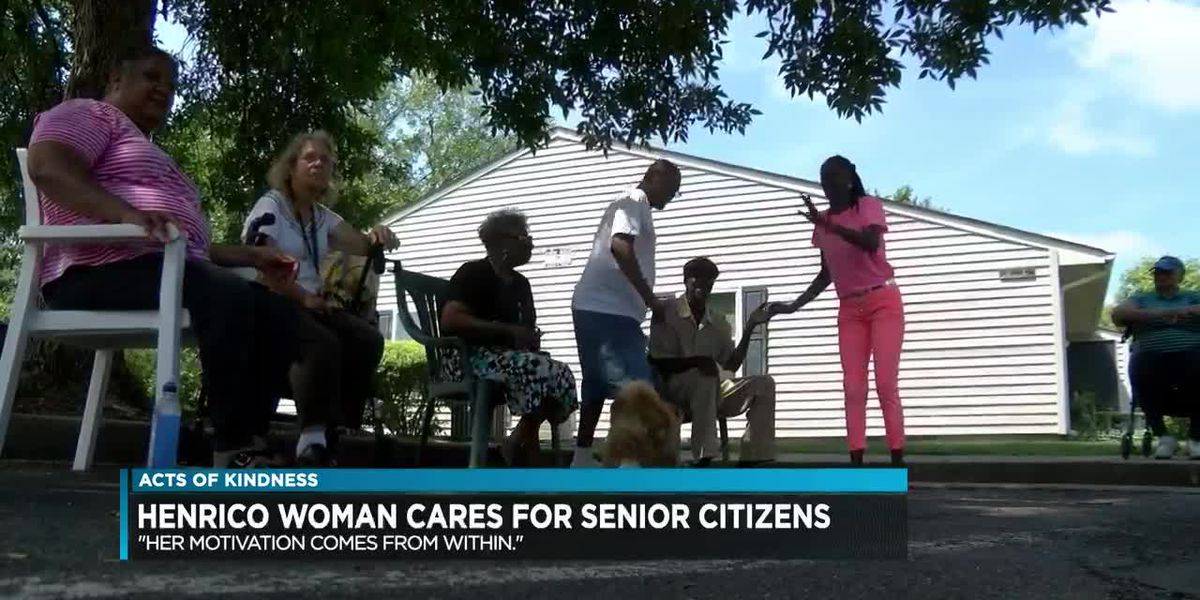 Henrico woman cares for senior citizens