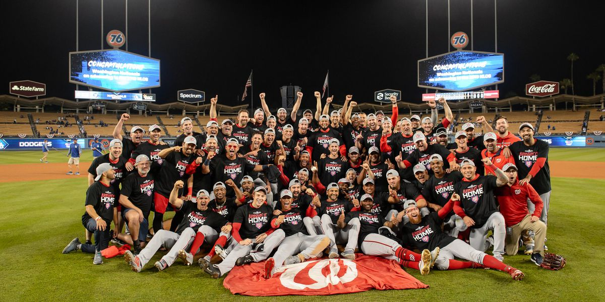Nats oust Dodgers, Cards dump Braves to reach NLCS