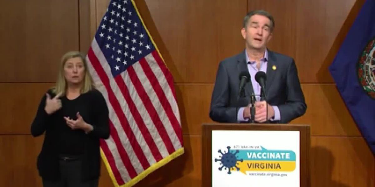 Northam unveils new COVID-19 vaccine pre-registration system