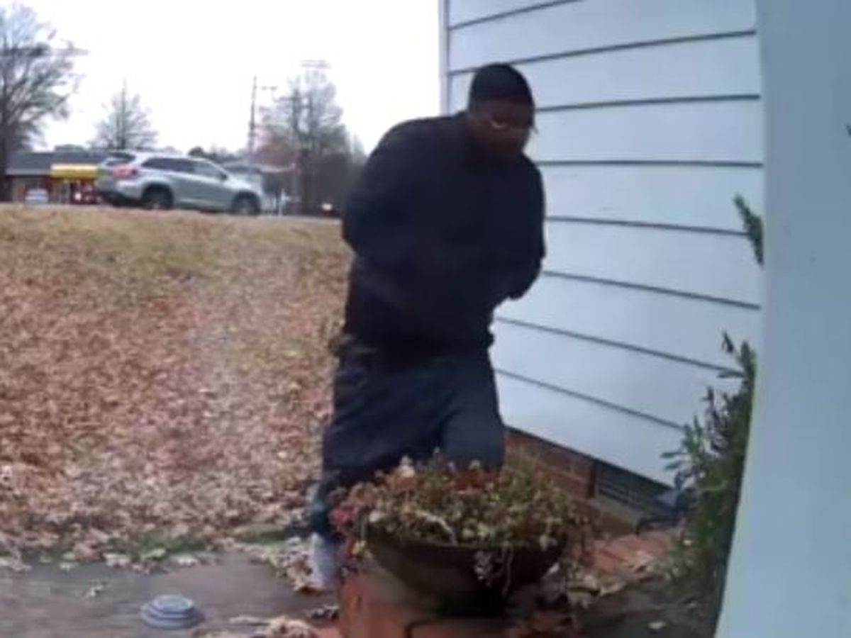 Man in Looney Tunes jacket breaks into home, steals presents under Christmas tree