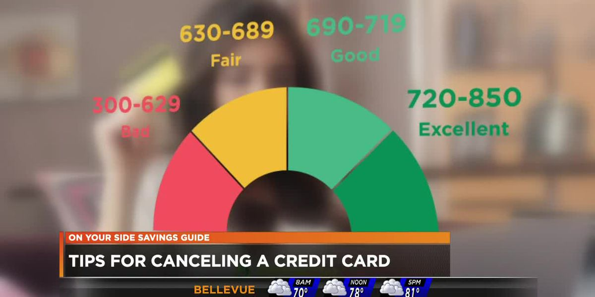 What happens when you cancel a credit card?