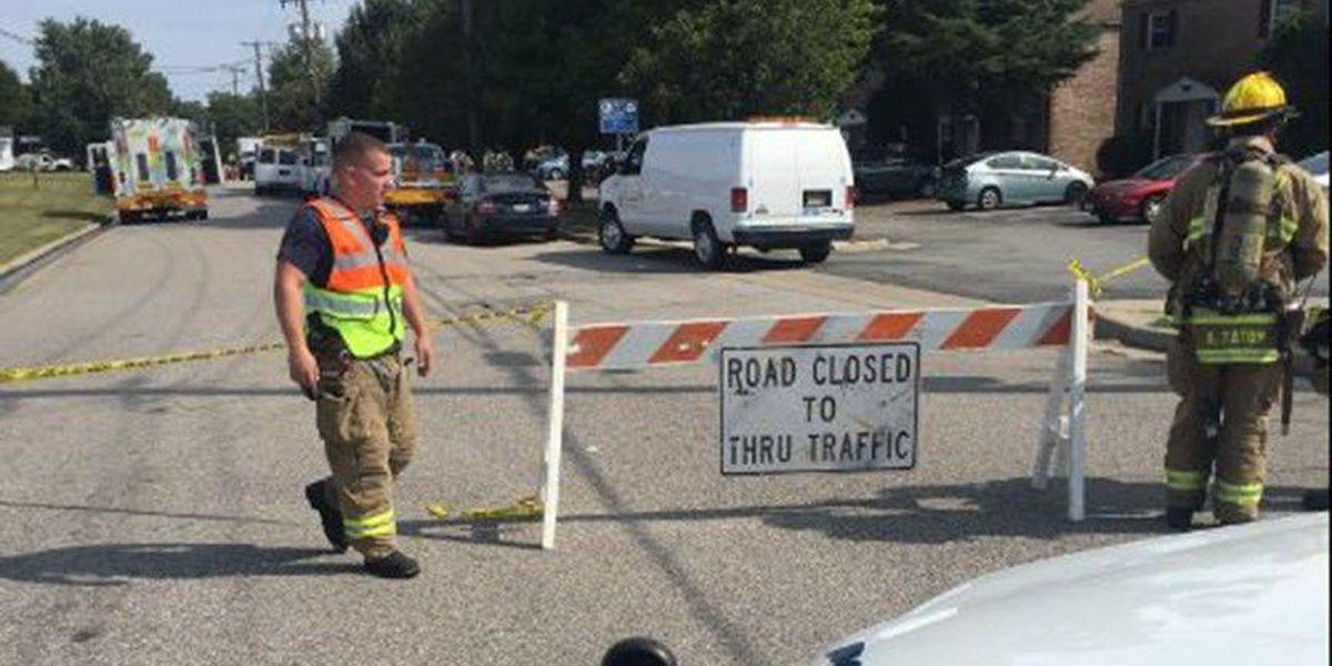 Gas leak prompts evacuations in Colonial Heights