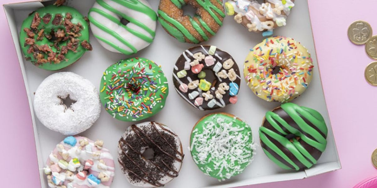 Duck Donuts releases St. Patrick's Day themed donuts