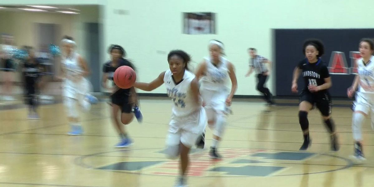 Cosby HS girls basketball team wins nail-biter championship game