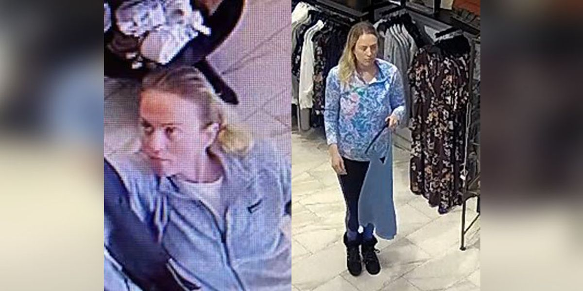 Police search for woman suspected of shoplifting at Carytown store