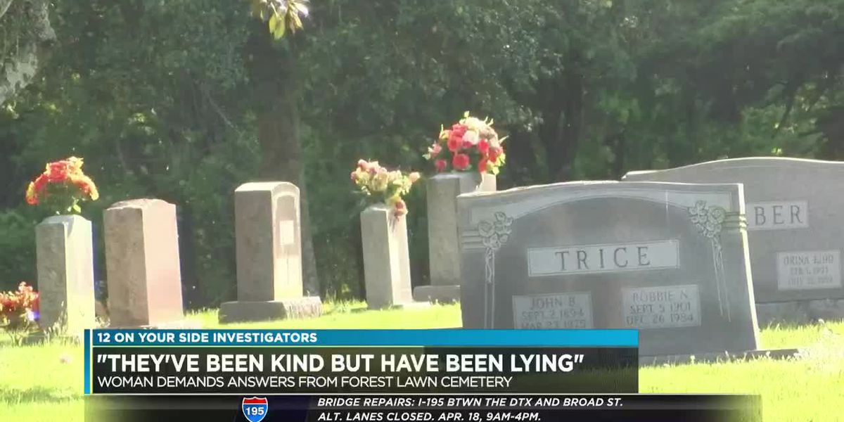 Cemetery gives woman run-around over grave marker