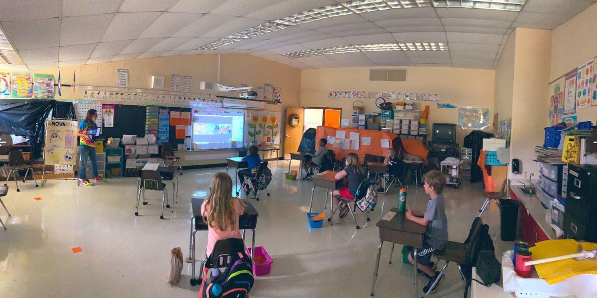 Powhatan teacher takes us inside her socially-distant classroom