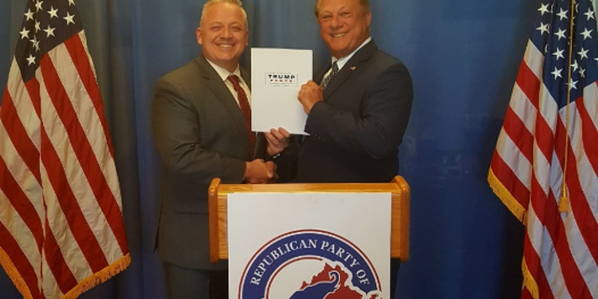 Riggleman files paperwork for Trump to appear on Virginia ballot in 2020