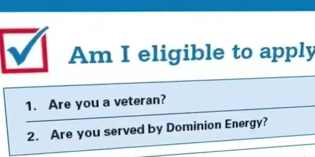 Dominion Energy to upgrade 100 homes for 100 veterans