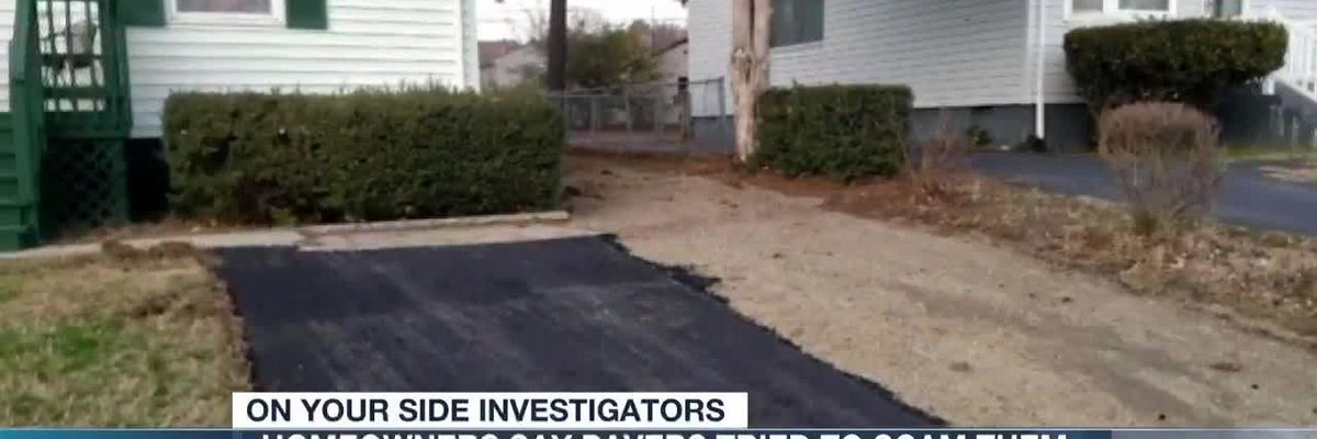 Search for driveway pavers who attempted to scam Henrico residents