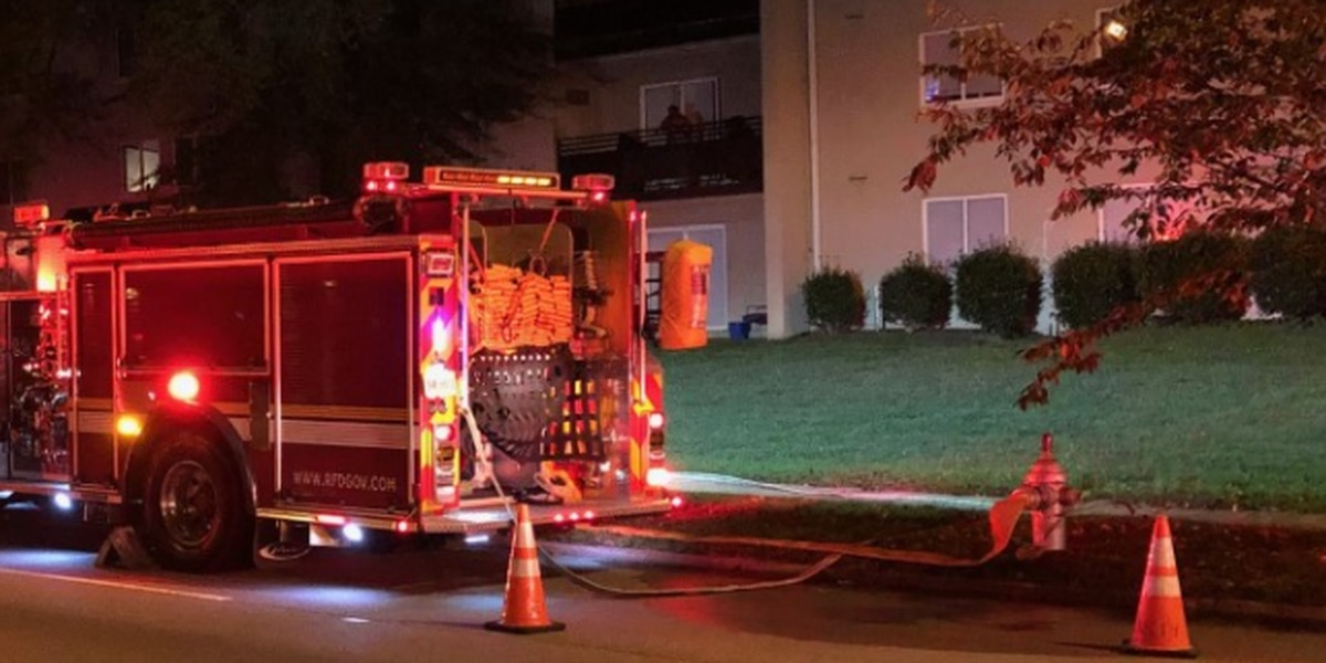 No injuries reported in overnight apartment fire