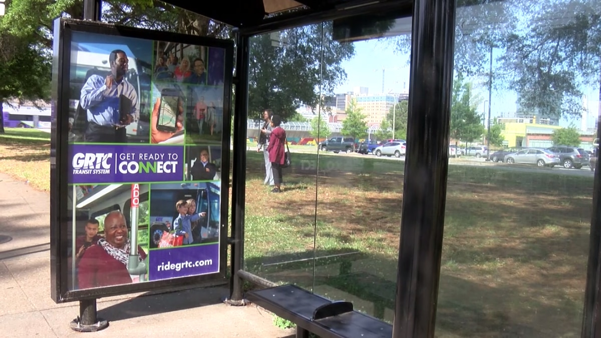 GRTC & Bon Secours unveil new bus shelter in Richmond's East End
