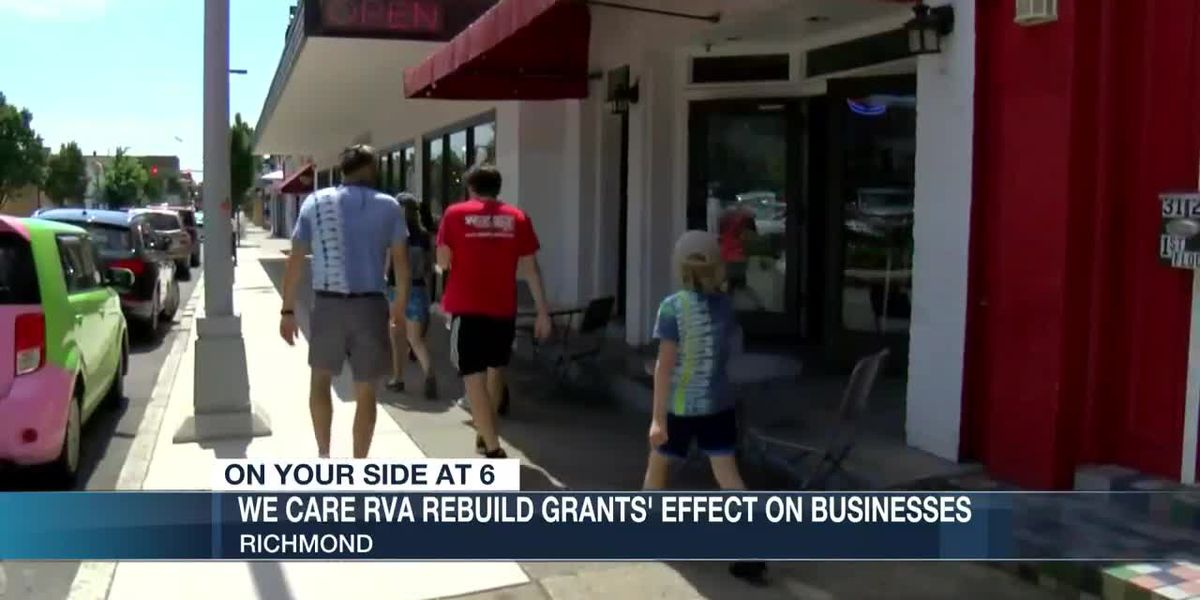 How the 'We Care RVA Rebuild Project' has helped small businesses