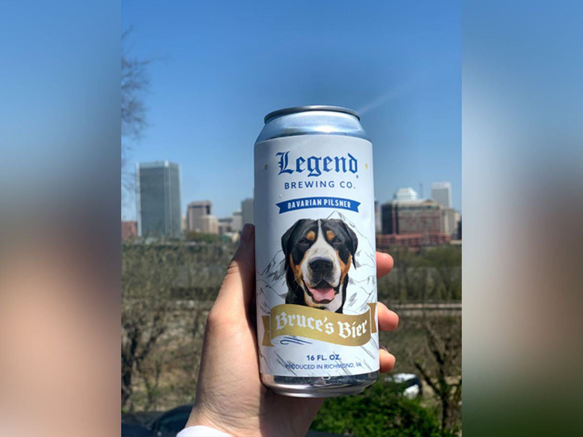Legend Brewing Company's 'Bruce's Bier' to benefit Richmond SPCA