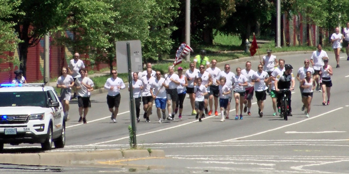 Silent run honors fallen military, special agent
