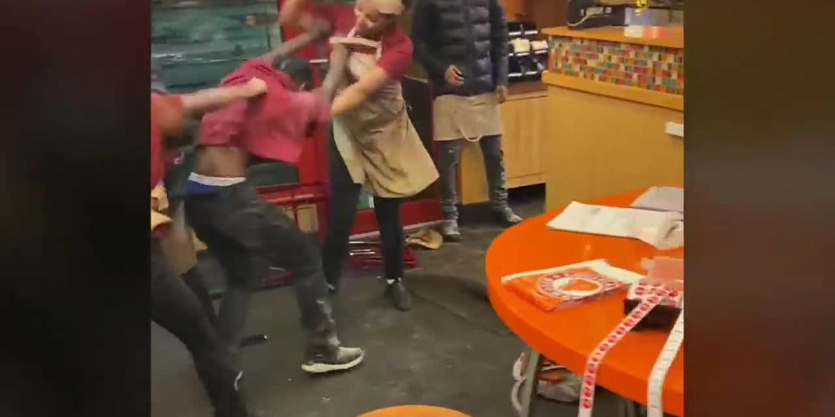 Seven Popeyes employees were fired after brawl inside restaurant