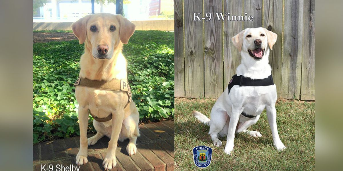 Richmond K9 retires, another K9 joins the ranks