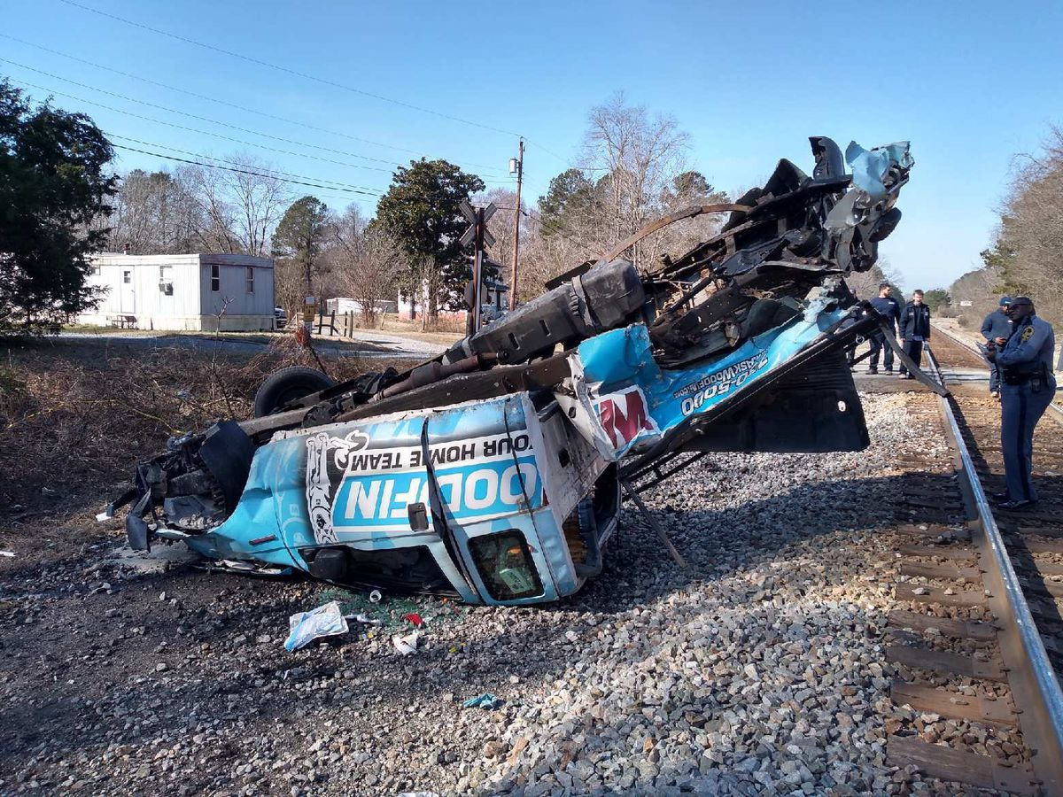 1 injured when Amtrak train hits truck in New Kent; driver charged