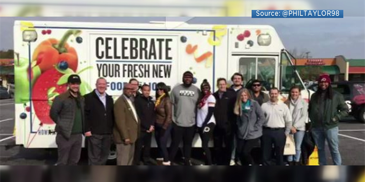 Washington Redskins player gives back to Henrico community