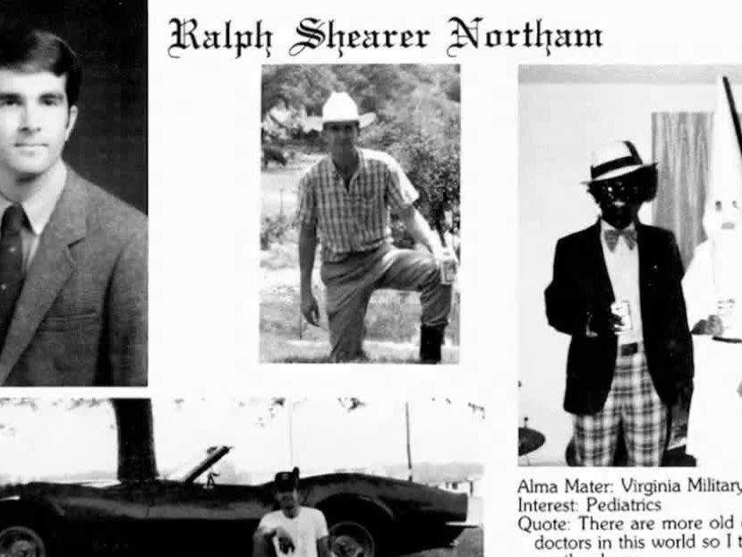 Probe into racist photo on Gov. Northam's yearbook page inconclusive