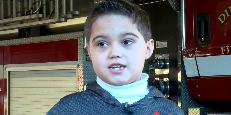 Dinwiddie boy fundraises for California wildfire victims