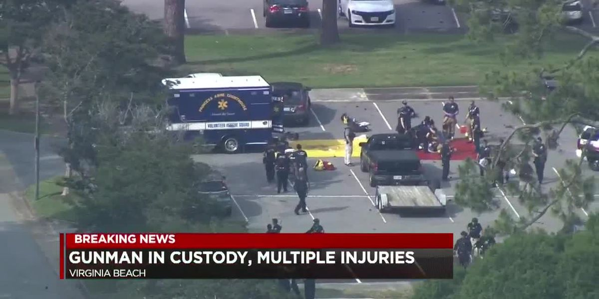 Suspect in Virginia Beach active shooting captured