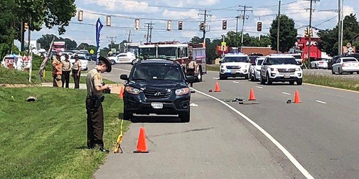 Pedestrian dies after being hit in Hanover on Wednesday
