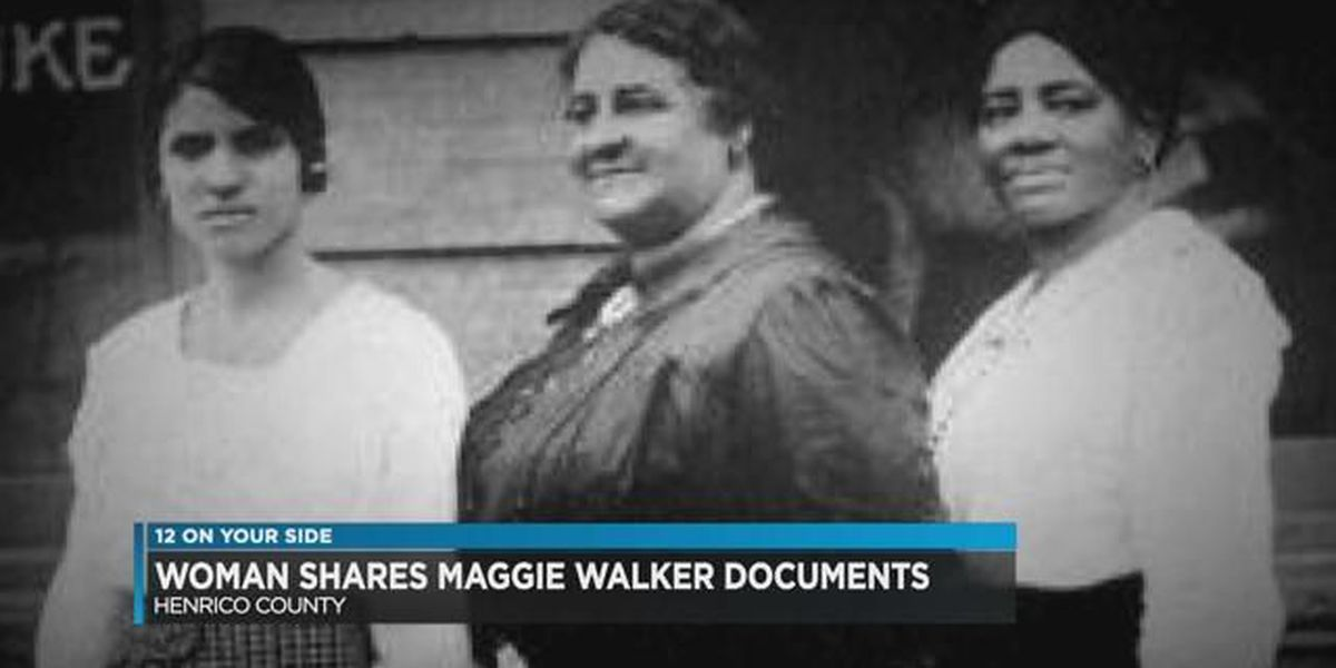 Henrico woman shares Maggie Walker documents