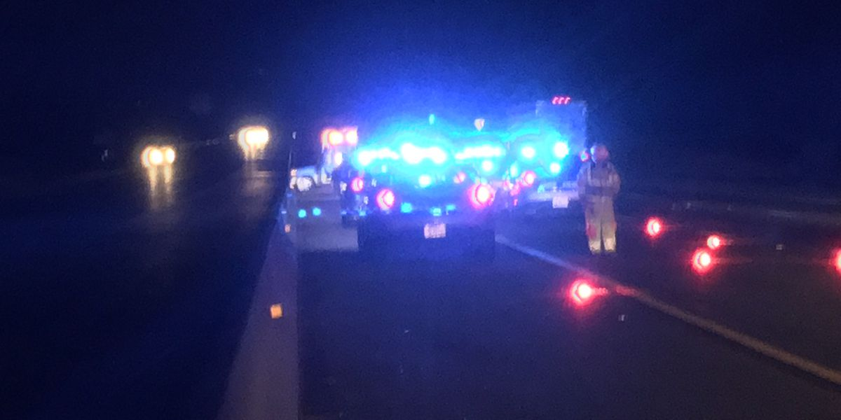 State trooper vehicle struck in police chase on I-95