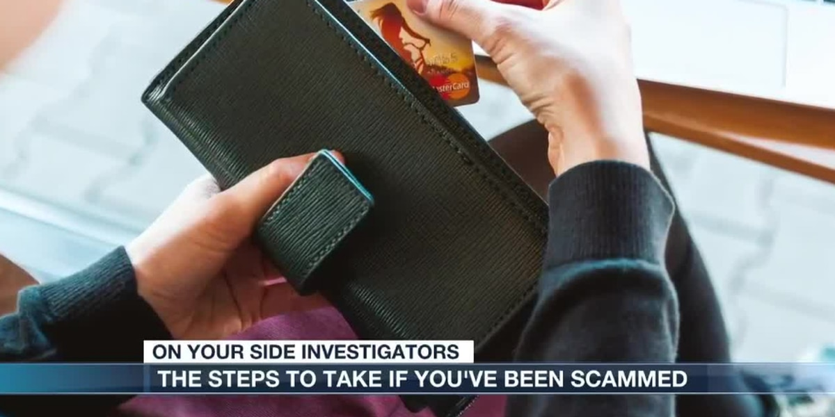 A step-by-step guide on what to do if you've been scammed