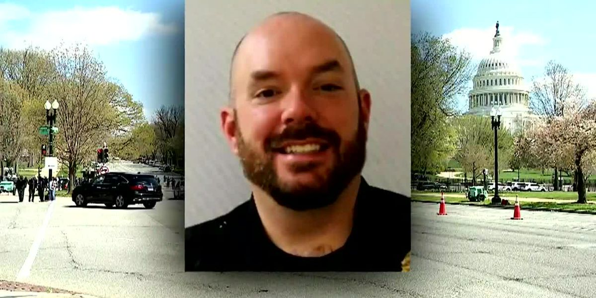 Capitol police officer to lie in honor at rotunda April 13