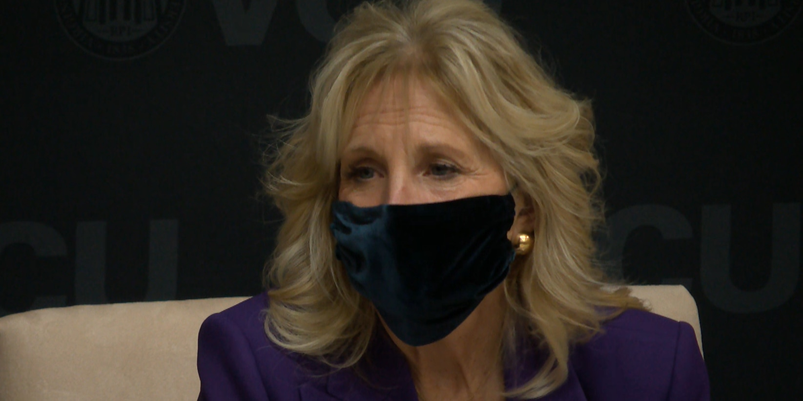 First Lady Dr. Jill Biden takes part in panel discussion at VCU