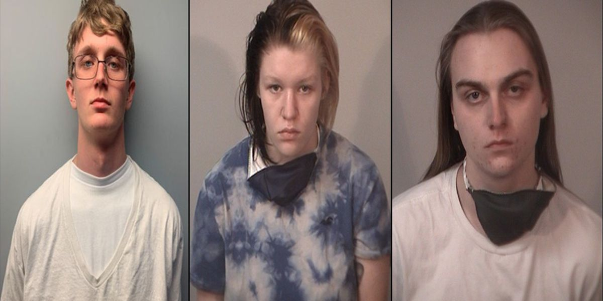 Three charged after dismembered body found in wooded area of Spotsylvania County