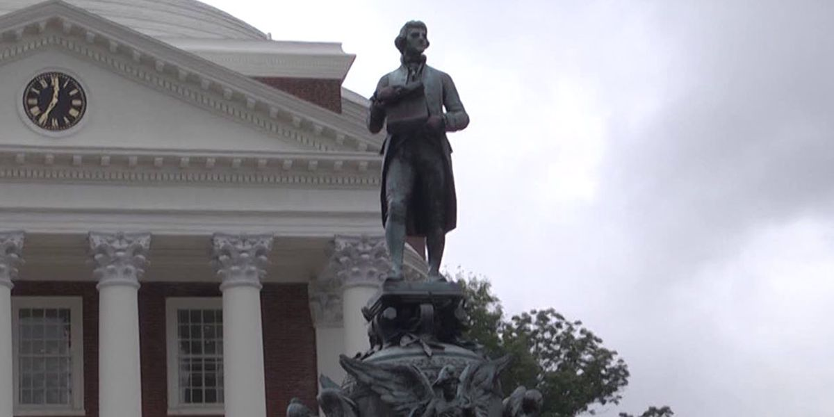 UVA aims to contextualizing Thomas Jefferson statue in front of Rotunda