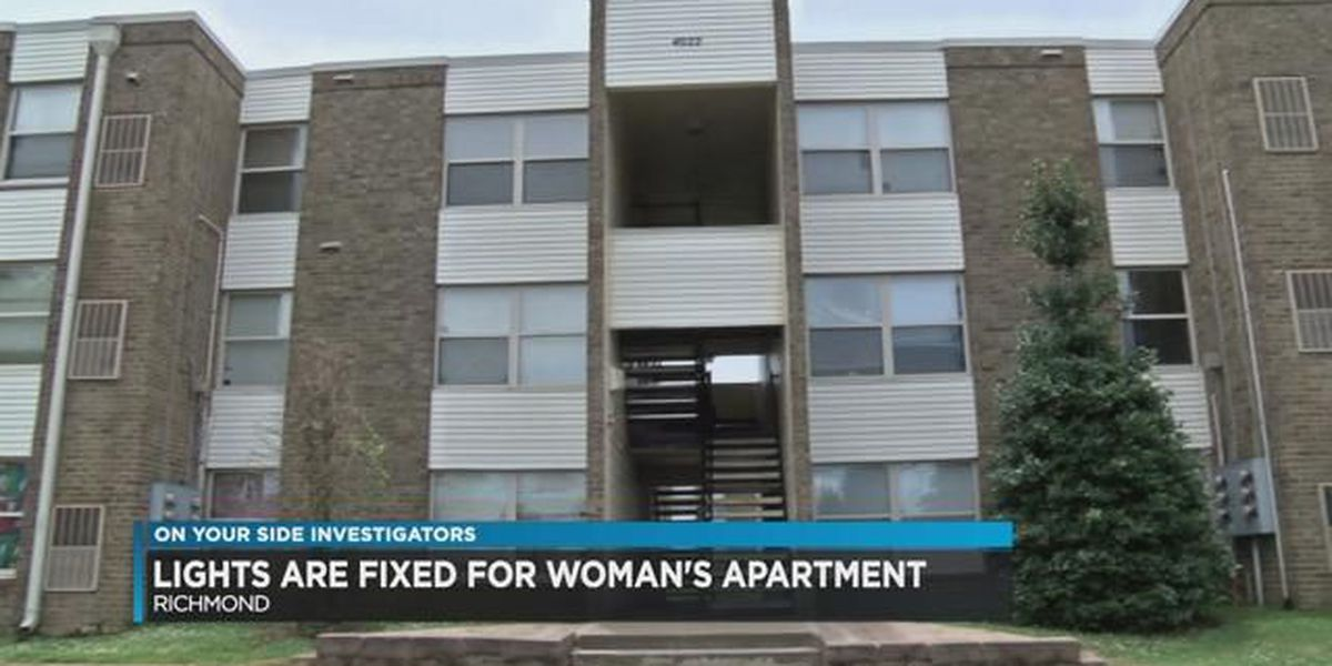 12 On Your Side: Lights fixed at woman's apartment