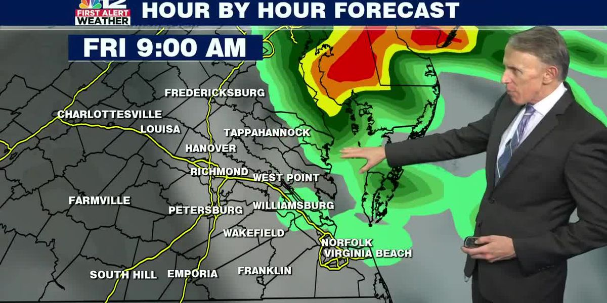 Forecast: Tropical system could bring downpours to the Bay, not much for Richmond