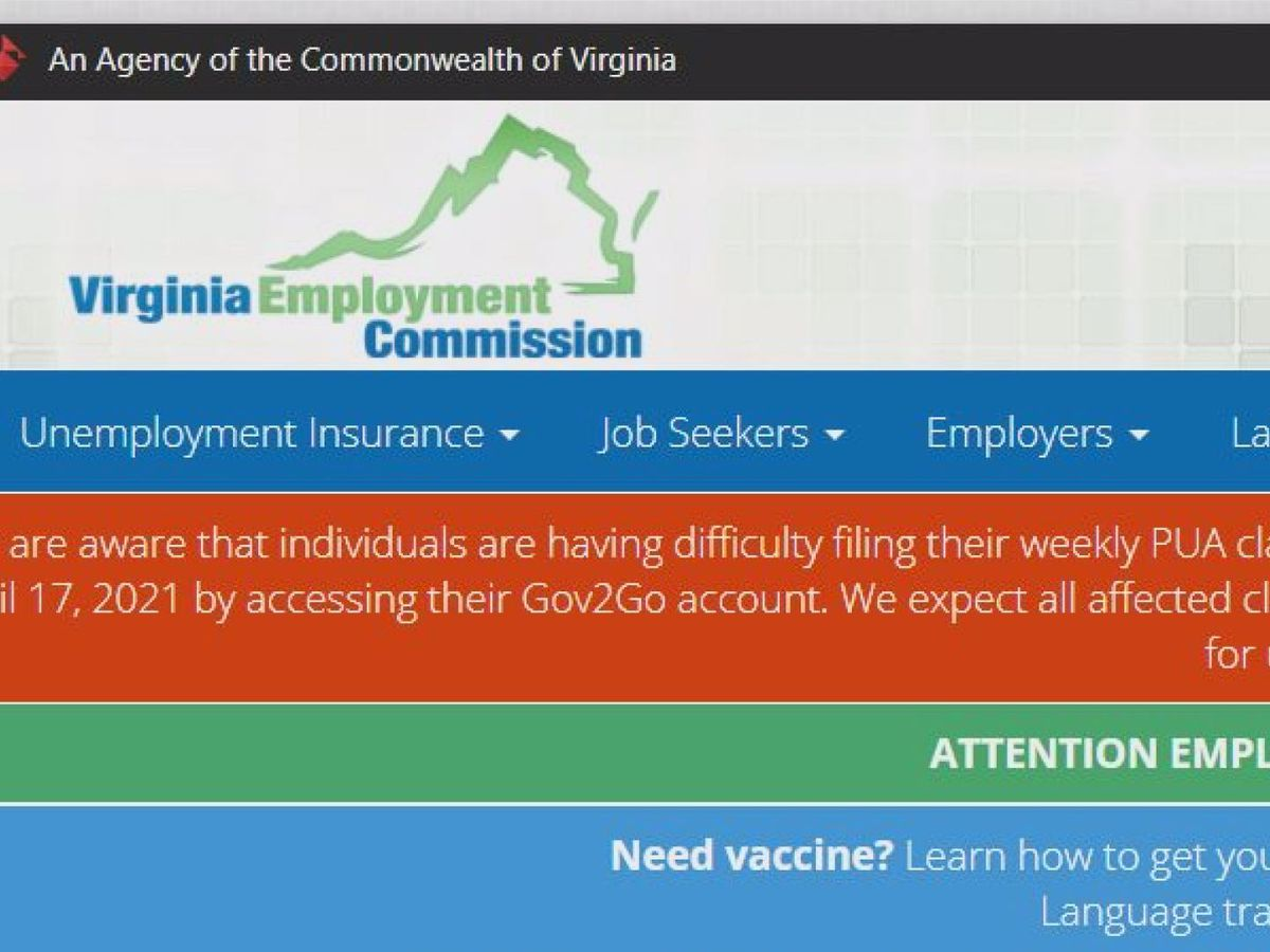 VEC fixes glitch in weekly filing of pandemic assistance claims