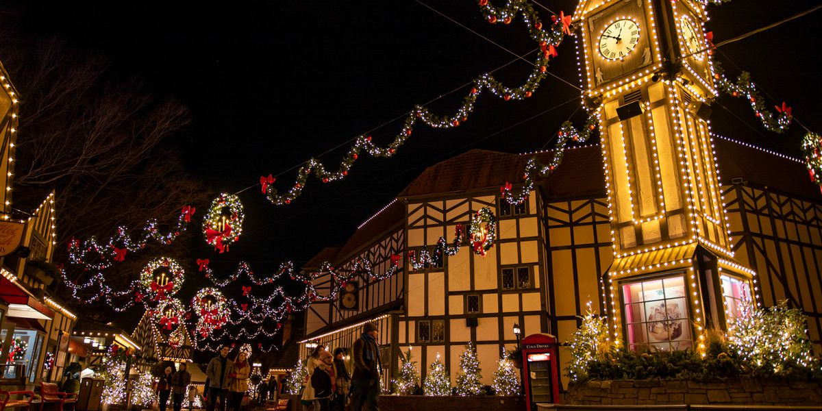 Christmas City.Busch Gardens Christmas Town To Light Up The Holidays