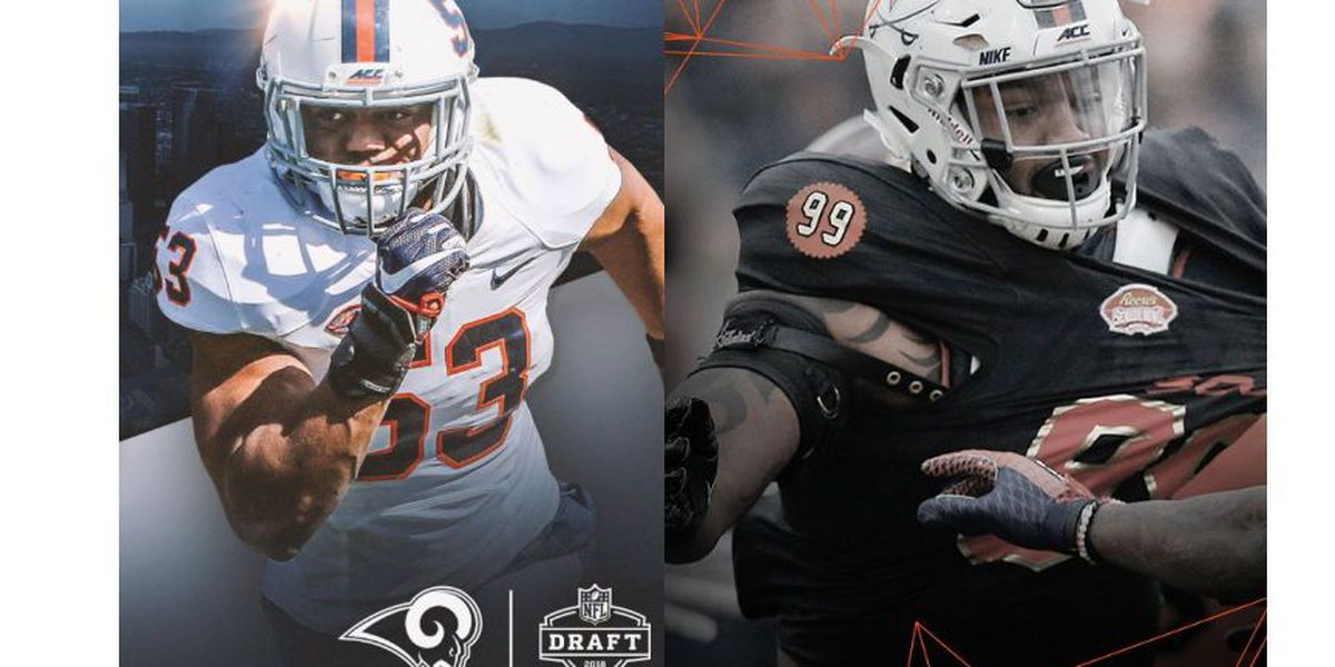 2 UVA football players selected for NFL Draft