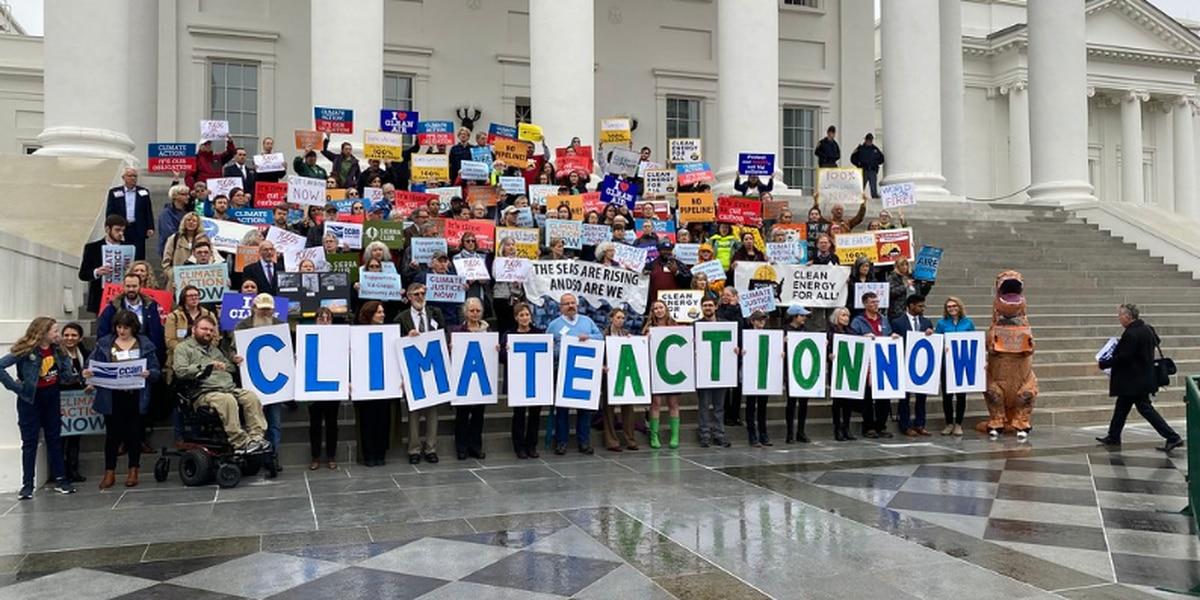 Hundreds trek to Capitol to support environmental bills