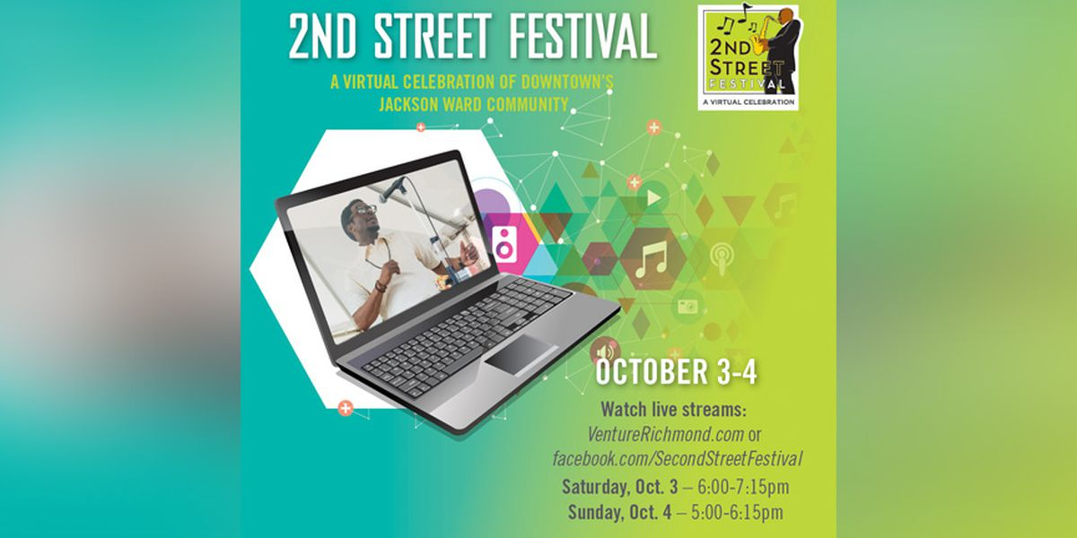 2nd Street Festival to be celebrated virtually