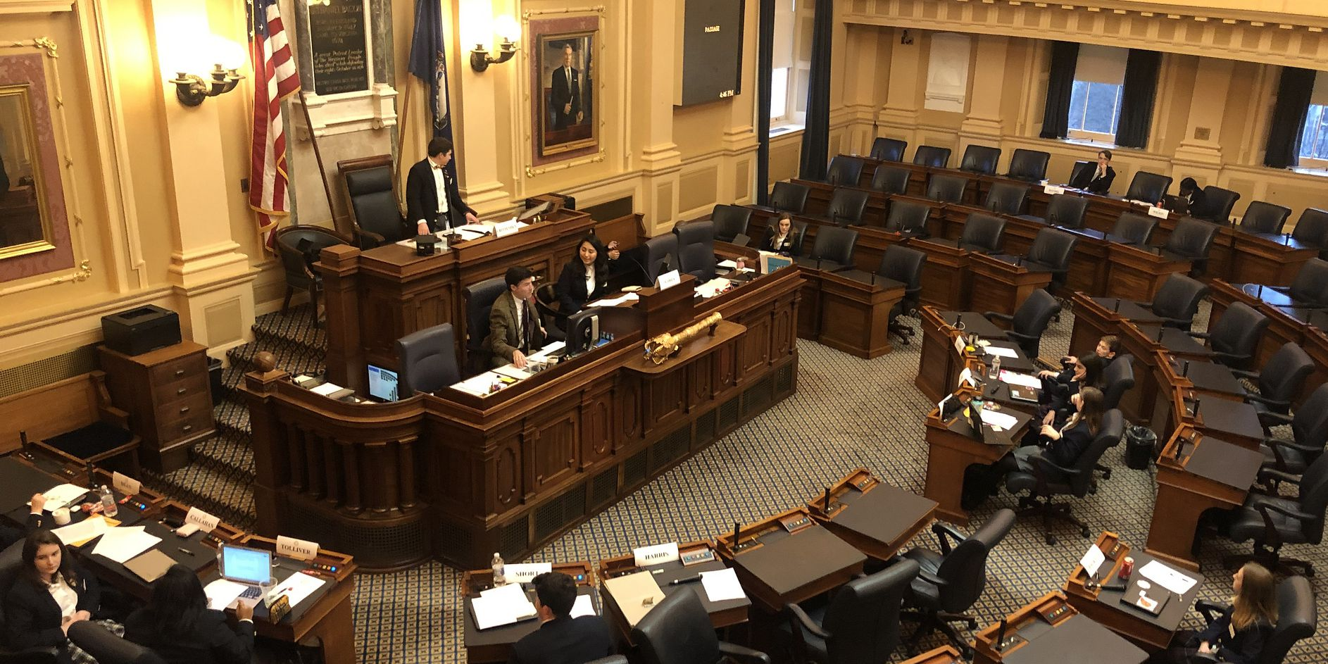 Kids Rule: House of Delegates page program holds annual mock debate